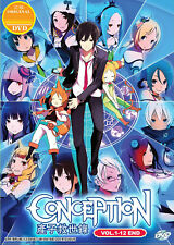 Conception DVD Complete1-12 English Dubbed Anime - US Seller Ship FAST