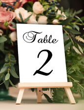 Wedding Table Numbers 1-25 Calligraphy Centerpiece Table Decor for Party Favors