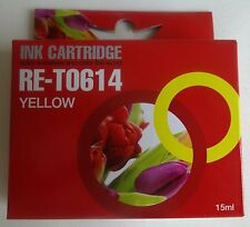 RE-T0614 15ml geel ink cartridge NIEUW yellow NEW EPSON STYLUS D68/88 DX3800 etc
