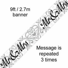 Wedding 6-10 m Party Banners, Buntings & Garlands