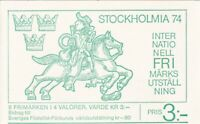 SBW067) Sweden Booklets x2, 1986, 290, H370, Europe XV Protection of Nature & En