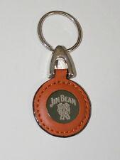 Jim Beam Kentucky Bourbon Wiskey Leather Ad Promo Key Chain New NOS 2000's