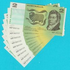 1974 Australia Phillips Wheeler $2 Two Dollar aUNC =ONE ONLY=