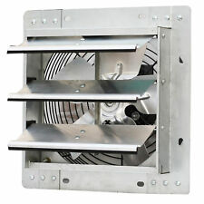 iLIVING 10 Inch Variable Speed Shutter Exhaust Fan, Wall-Mounted