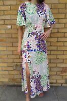 Austin Angel Sleeve Midi Maxi Floral Print Boho Summer John Zack