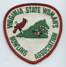 1960s Virginia State Womens Bowling Association Patch