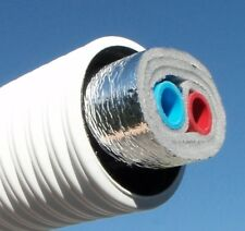 """Outdoor Furnace / Outdoor Wood Boiler Underground Insulated Pipe - 1"""" PEX 100ft"""