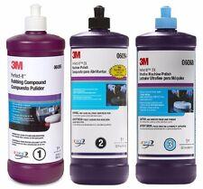3M Perfect-It Buffing Compound & Polishing Kit 06085 06094 06068, 6085 6094 6068