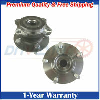 Pair 2  NEW Rear Wheel Hubs and Bearings  fit Lancer Outlander RV 4WD AWD