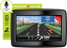 GPS TOMTOM VIA NAVIGATION AUTOMOBILE CARTES FRANCE & EUROPE 45 + ALERTES RADARS