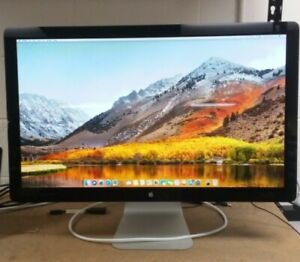 """Apple A1316 27"""" 2560x1440 Widescreen LED Cinema Display *Crack* 