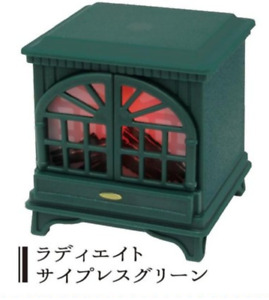 J Dream Gashapon Mini Fireplace LED  - No.2 Green