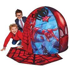 Oficial Spiderman Secret Den Plegable Tienda de Juegos Con Tela Araña Alfombra