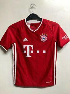 Bayern Munich Kid's Football Shirt - Adidas FC Bayern Home Kit - 9-10 yrs - NWD