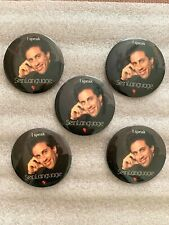5 Pinbacks Juggalo Music Groupie follower New Collectable or gift SELECT A SIZE