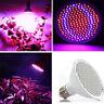 30W E27 200 LED Full Spectrum Flower Plant Hydroponic Grow Light Lamp Bulb