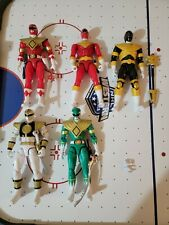 Power Rangers Legacy Collection Lot  Red Green White Ranger Gold Red Zeo Ranger