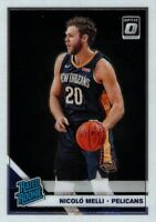 2019-20 Donruss Optic Base Nicolo Melli Rated Rookie Card #163 Pelicans