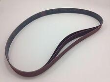 """1"""" x 42"""" Sanding Belts, 3 pack, 150 grit, AL Oxide - Made in USA"""