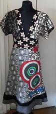 Belle Robe multicolore de marque Desigual taille S (34/36) en très bon état