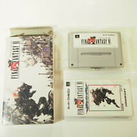 Final Fantasy VI  6 ~ Complete in Box CIB (Nintendo Super Famicom, 1994)