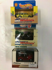 3 Boxed  JC Whitney Hot Wheels