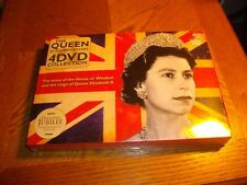 the queen 60 glorious years 4 dvd collection diamond jubilee edition sealed
