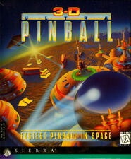 3D Ultra Pinball PC Video Game (1995) Isometric Arcade Action