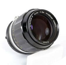 Nikon Nikkor-P 105mm F2.5 AI Lens