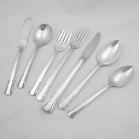 40 Pc Oneida 1881 Rogers 1939 Del Mar grill set  Silverplate flatware