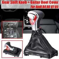 Neu Leder Schaltknauf Automatik Schaltsack für Audi A3 A4 A5 A6 Q5 Q7 4G1713139