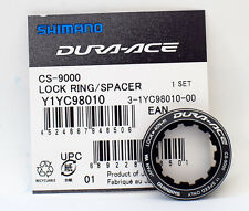 Shimano DURA-ACE CS-9000 Cassette Lockring w/Spacer 11 Speed