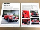 MG TF and 1500 Original Car Review Print Article J670  1953 1954 1955