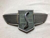 1947 1948 1949 Studebaker Commander Hood Emblem