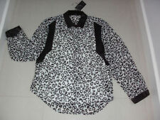 Women's Polyester Animal Print Long Sleeve Sleeve Evening, Occasion Tops & Blouses