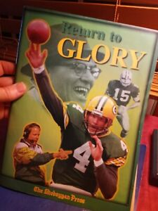 Just After Superbowl Sheboygan Press RETURN TO GLORY GREEN BAY PACKERS 50 Pages