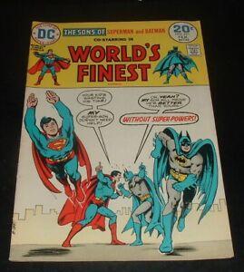 LQQK vintage 1974 comic WORLDS FINEST #221