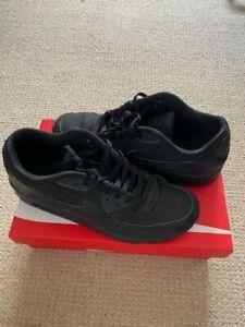 nike air max 90   uk size 10   usa 11  vintage rare infrared Black/Black