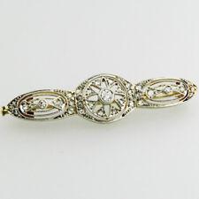 Begeistert Brillantbrosche Diamantbrosche Mit Brillanten Diamanten In Aus 18 Kt Echtschmuck Uhren & Schmuck 750 Gold