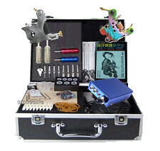 New Supply Tattoo kit 2 machine mini tatoo power supply tattooing complete set