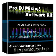 Music Creator Virtual DJ Software Kit -  Learn DJ Mixing On Your Laptop or PC