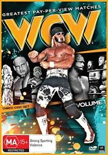 WCW - Greatest Pay-Per-View Matches : Vol 1 (DVD, 2014, 3-Disc Set) NEW SEALED!