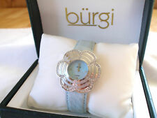 'BURGI' - Mother of Pearl & Diamond  Ladies Watch
