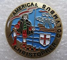 Pin's America Christopher Colvmbus Christophe Colombs #919
