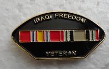 Iraqi Freedom Veteran Hat Pin