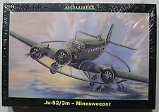 SEALED Eduard 1/144 Junkers Ju-52/3mg4e (MS) German WW2 Minesweeper Aircraft