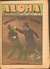 ALOHA 33 Simon Vinkenoog BYRDS Gilbert Shelton BOB DYLAN Winsor McCay The WHO