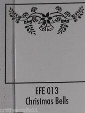 "Nellie Snellen Emboss Folders ""Christmas Bells"" Efe013 Cards And Scrapbooking"