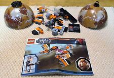 LEGO, STAR WARS, SEBULA PODRACER & TATOOINE (9675).  MANUAL & MINIFIGURE. (6348)
