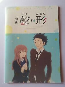 Koe No Katachi A Silent Voice Movie Theater Limited Pamphlet Book